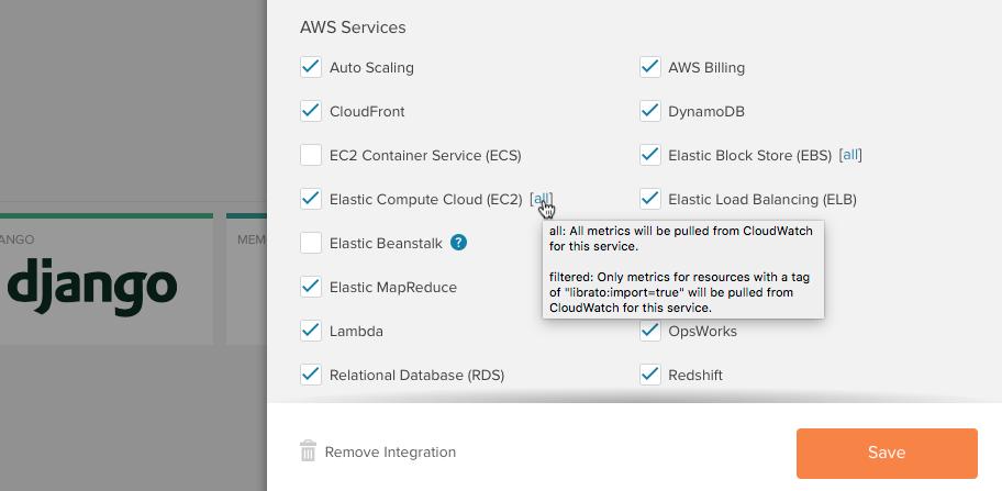 AWS CloudWatch — Librato Knowledge Base
